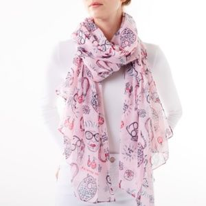 IRIS APFEL fashion icon scarf shawl wrap